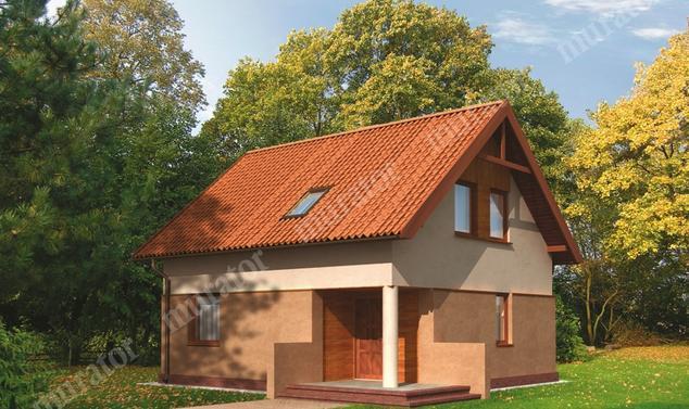 Projekt domu:  Murator WM13   – Wróblówka